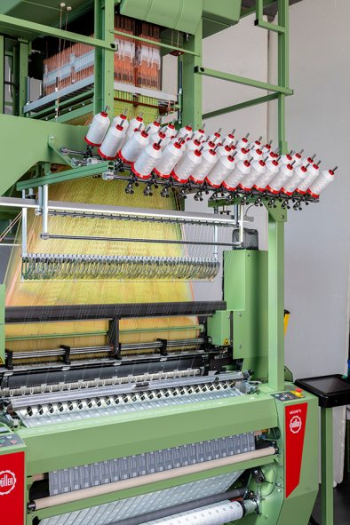 Geiferwebmaschine etiketten